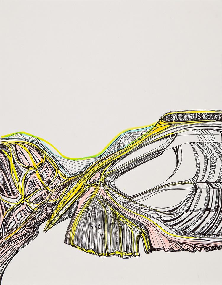 Malado Baldwin new work